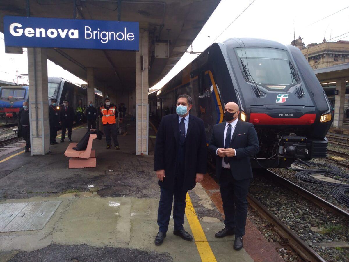 Nuovi treni Liguria