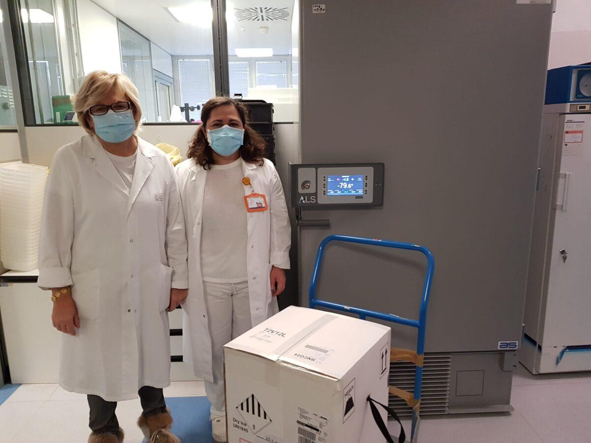 Ospedale San Paolo di Savona arrivo vaccini Pfeizer