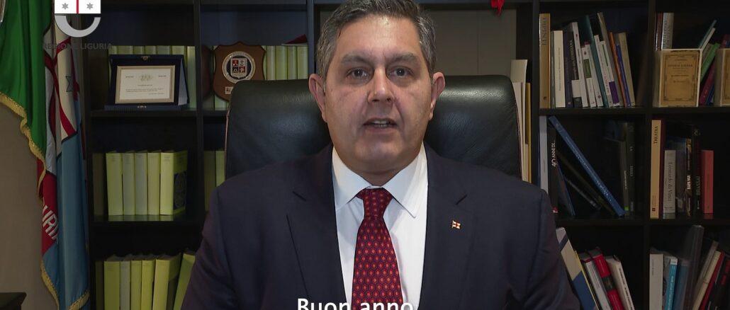 Presidente Regione Liguria - Toti - Buon anno