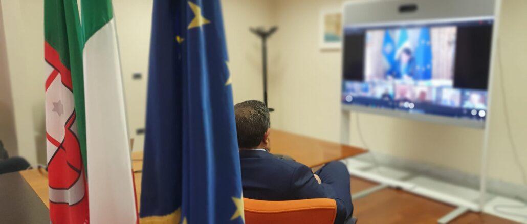 Regione Liguria - Toti incontro con governo