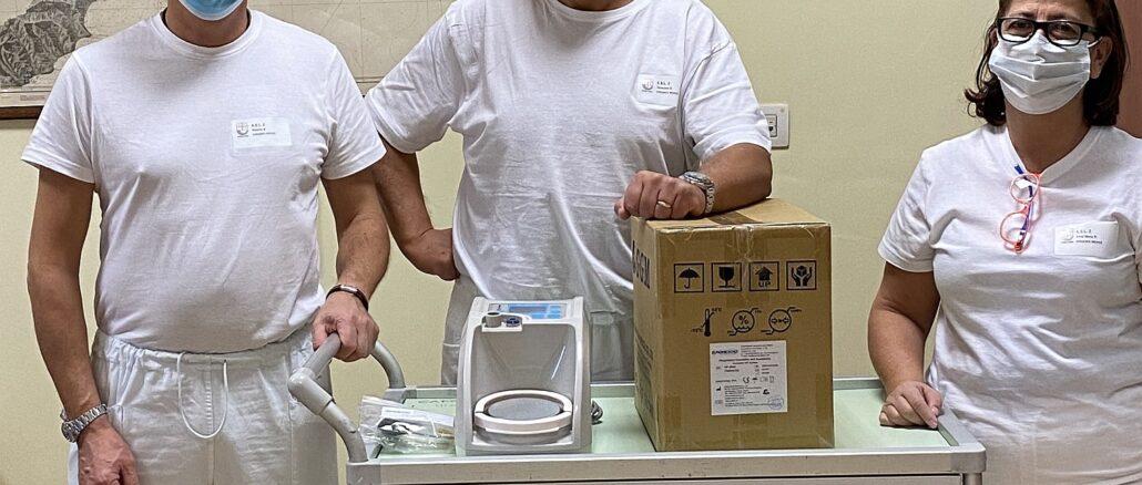 Rotary donazione ospedale albenga