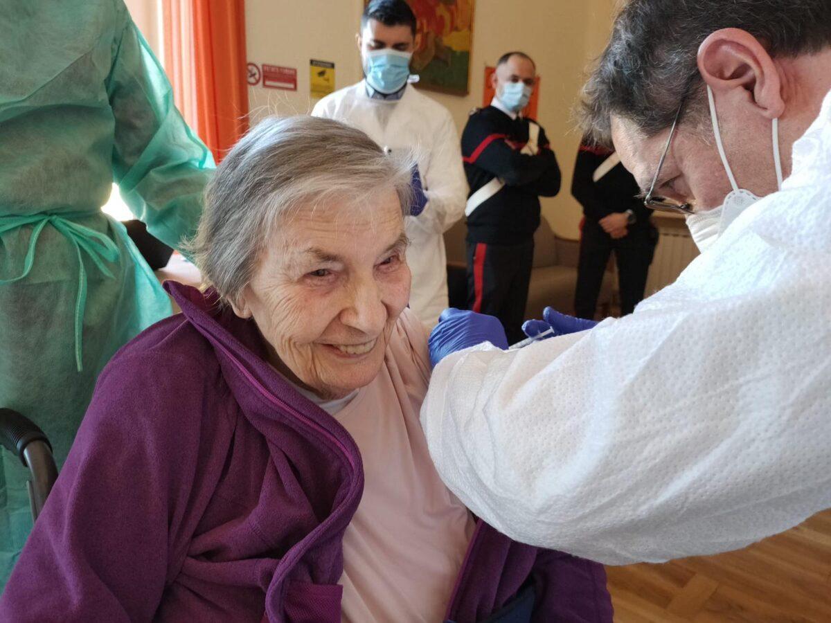 Rsa Villa Betania ospite Marisa Rossi 90 anni