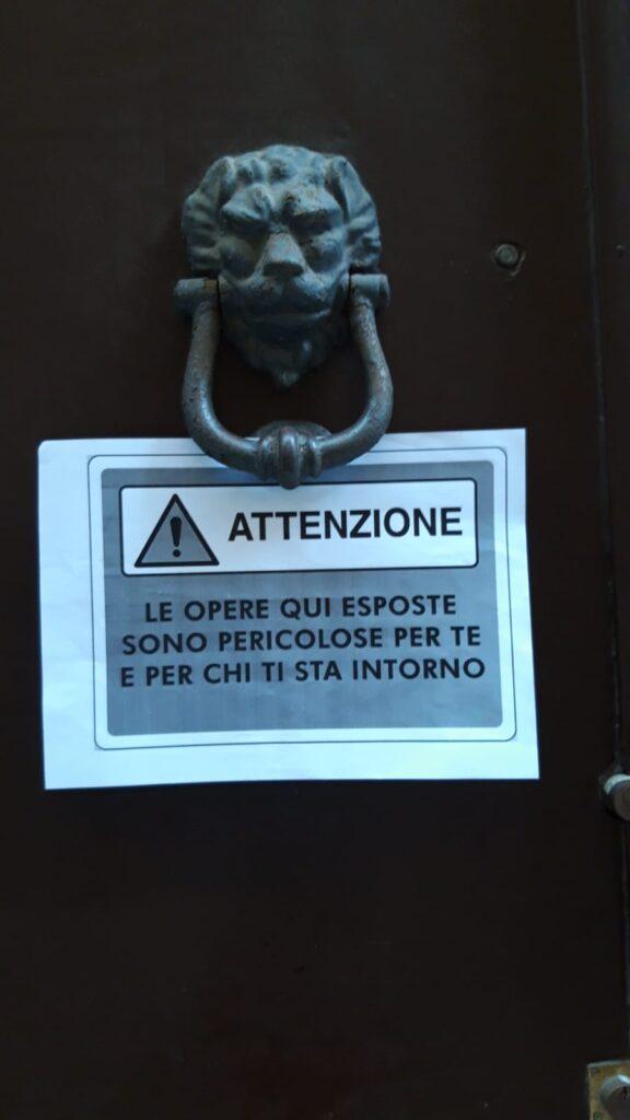 Savona cultura in piazza - avvisi pericolo (2)