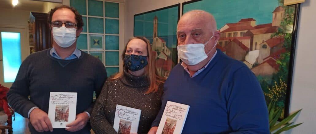 Tracce di Tramontana - Delfino Moro - I due autori con editore (Foto Daros)