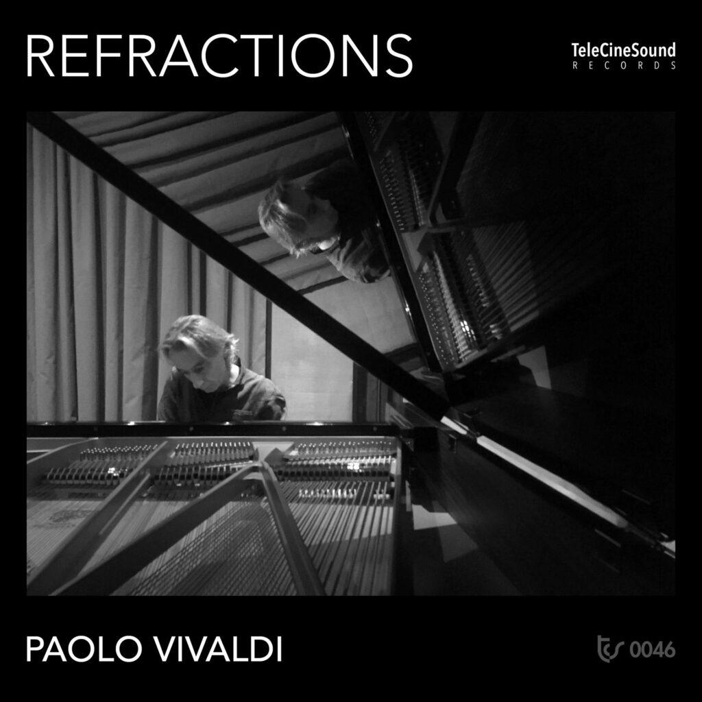 copertina Refractions di Paolo Vivaldi