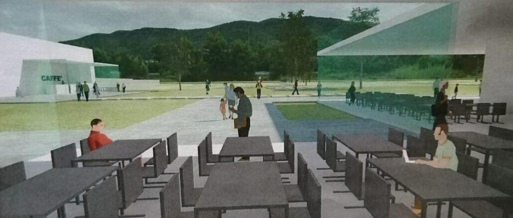 polo scolastico Albenga rendering
