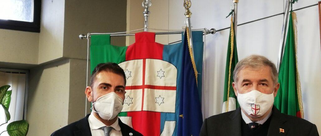 presidente Medusei e sindaco Bucci