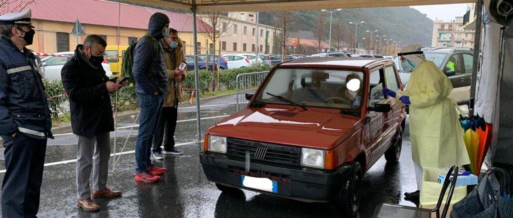 Brunetto tamponi Finale Ligure
