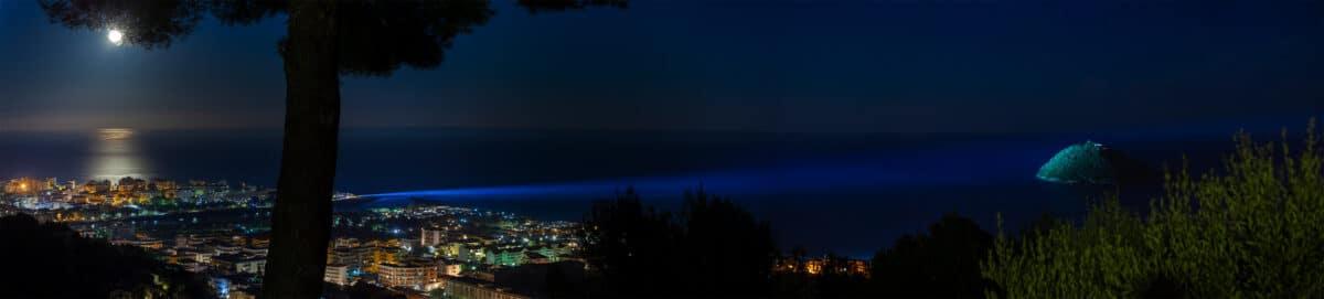 Illuminazione isola gallinara 1