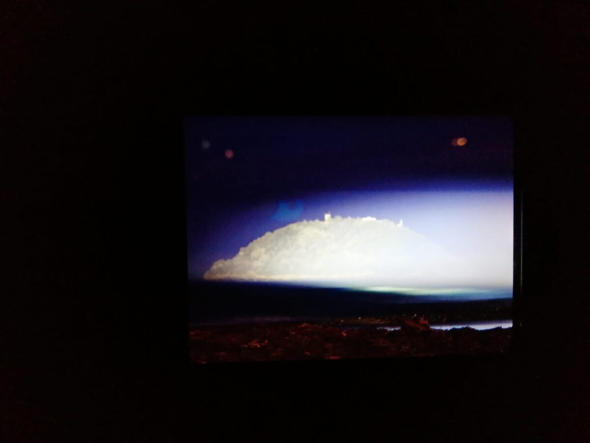 Illuminazione isola gallinara foto
