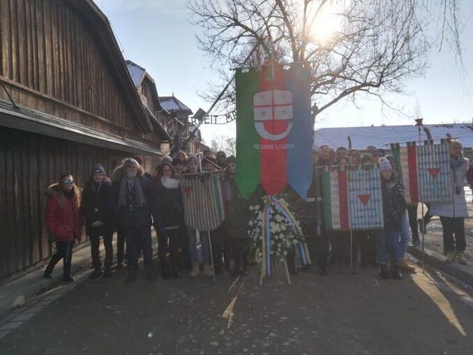 Liguria delegazione ad Auschwitz nel 2018