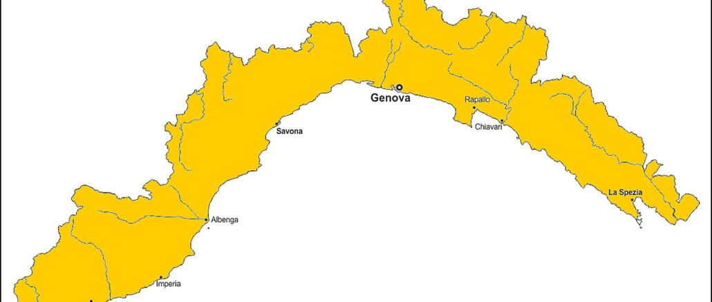 Liguria zona gialla