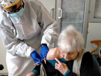 Opera Pia Siccardi Vaccinazione Giovanna Pastorino