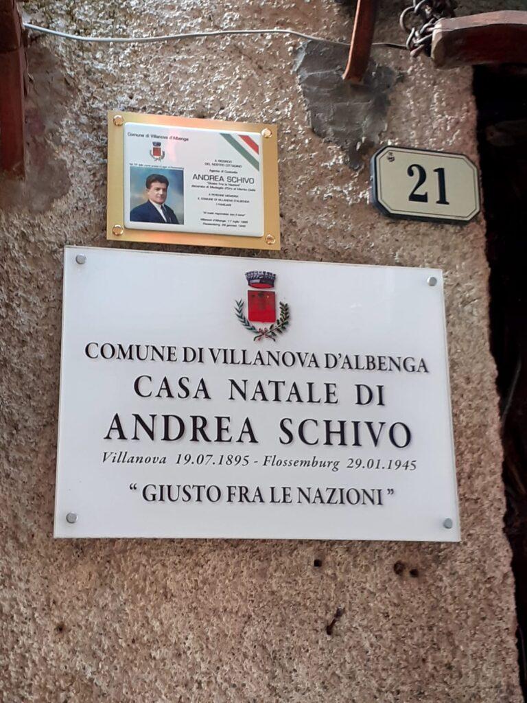 Targa Andrea Schivo