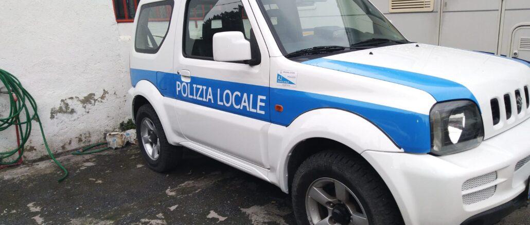 Auto Polizia Locale Albenga