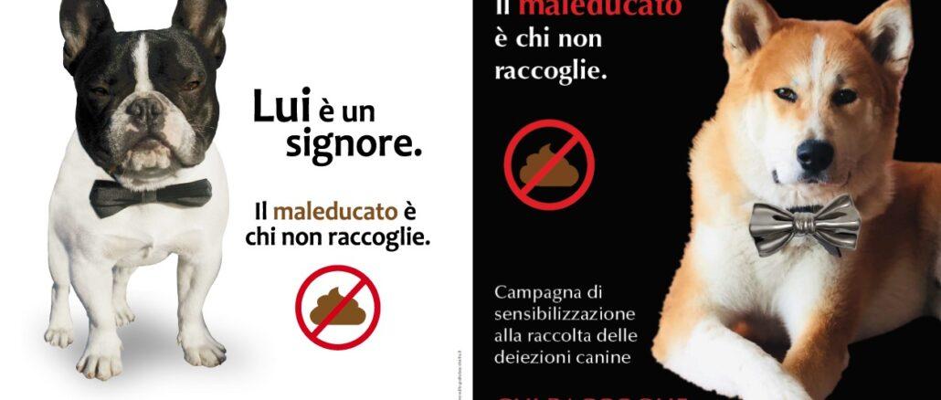 campagna deiezioni cani Albenga