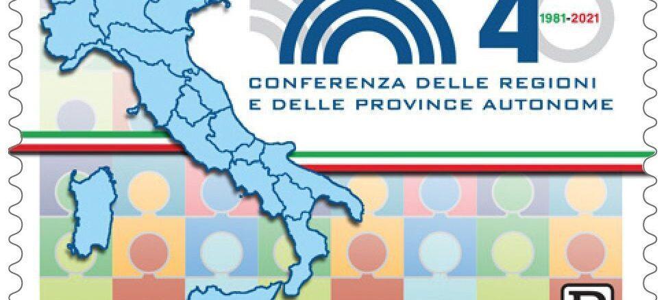 francobollo Conferenza Regioni