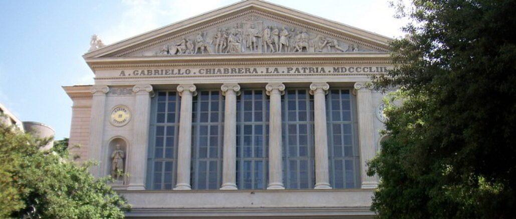 A Savona il teatro Chiabrera