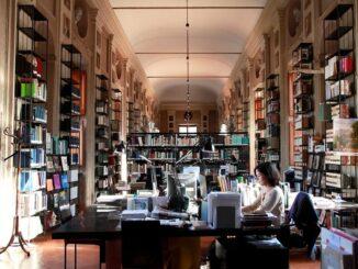 Accademia di Francia Villa Medici biblioteca