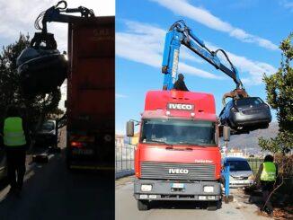 Albenga - rimozione veicoli