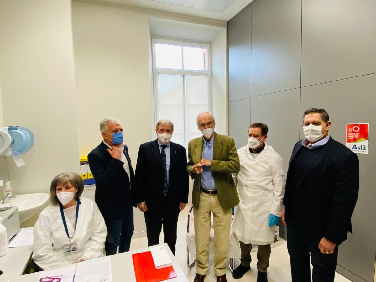 Bottaro Bucci Piano medico e Toti Asl3