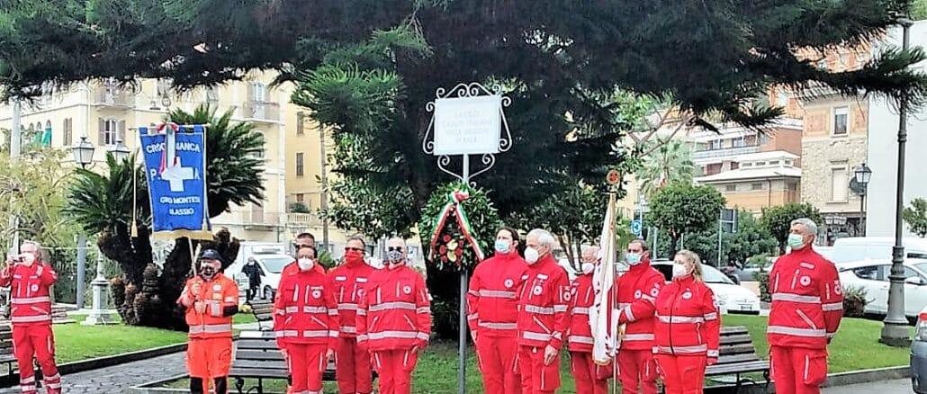 Croce rossa Alassio commemorazione caduti in Congo