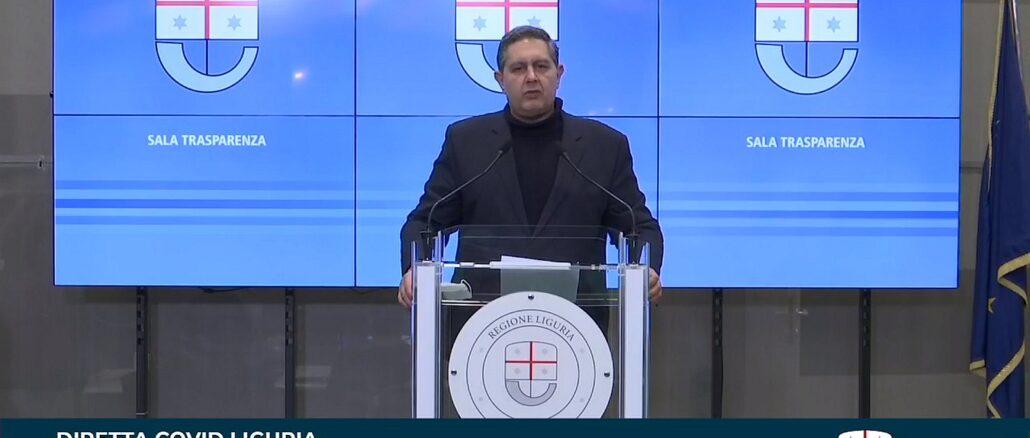 Giovanni Toti 15 febbraio 2021