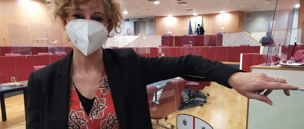 Mabel Riolfo in Regione Liguria