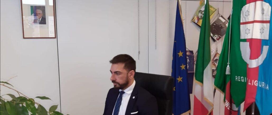Presidente Medusei durante la videoconfernza