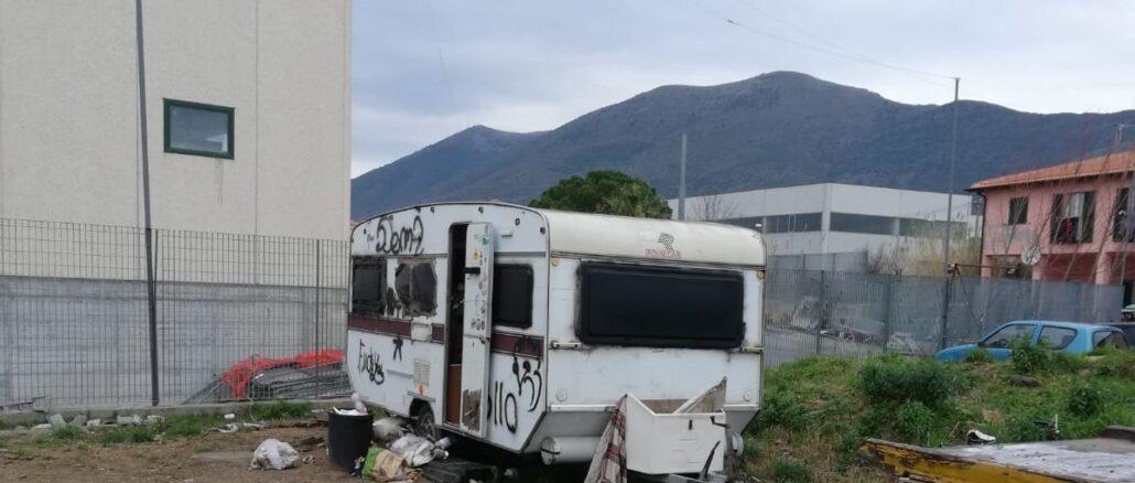 campochiesa Albenga degrado