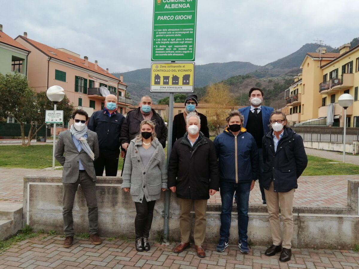 controllo vicinato San Fedele in Albenga