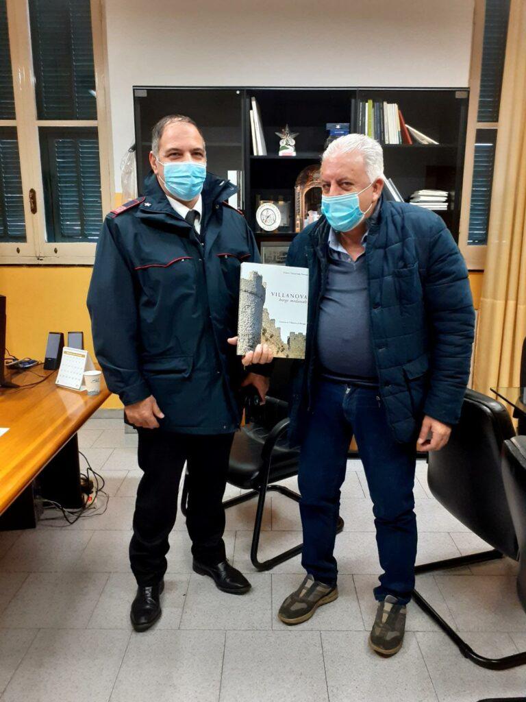 sindaco e comandante Stazione Carabinieri di Villanova d'Albenga