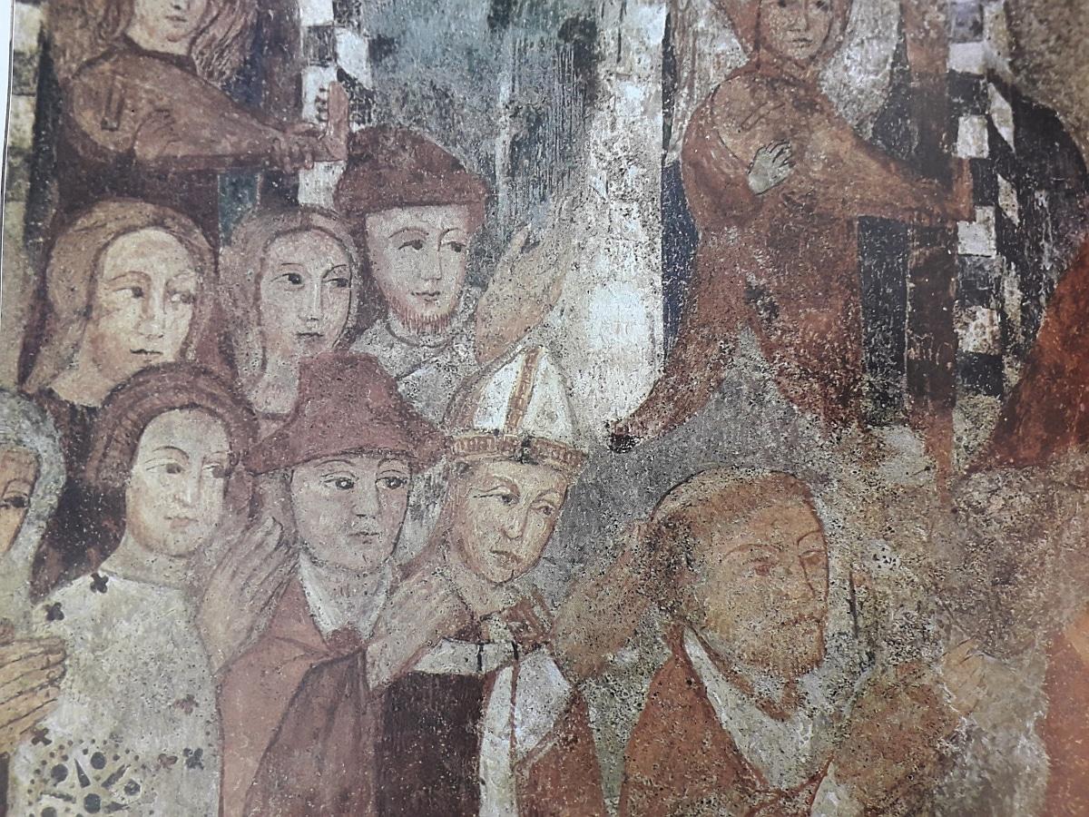 Affreschi Sant'Anna ai Monti (part.) - XV secolo