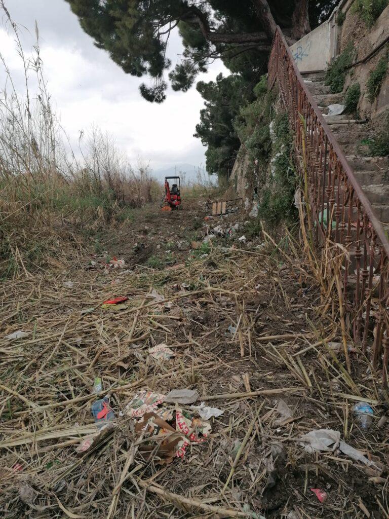 Albenga pulizia fiume Lungocenta Trento 2