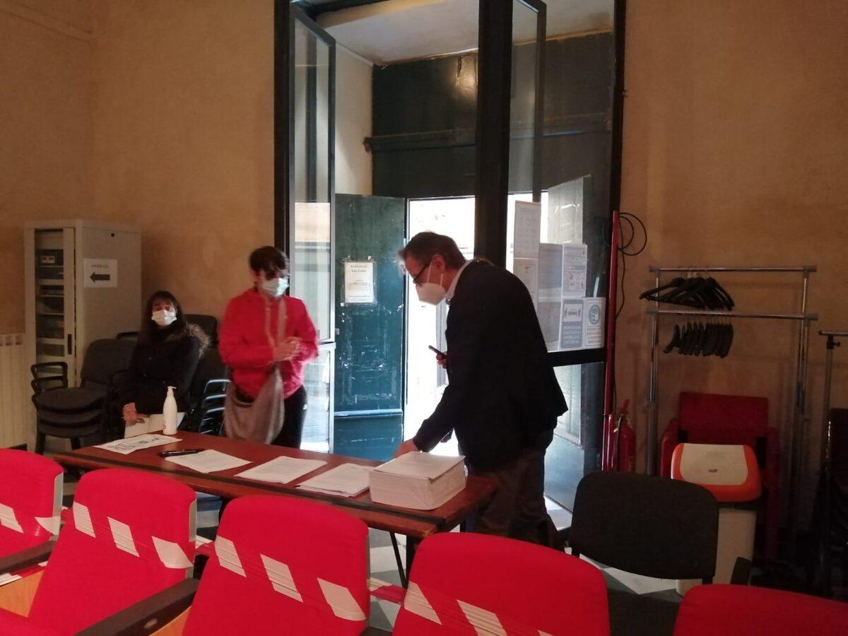 Vaccinazioni Auditorium Albenga