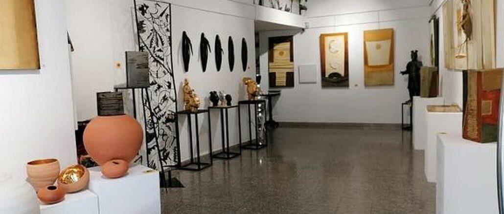 GulliArte a Savona Alcune opere dei 4 artisti in mostra