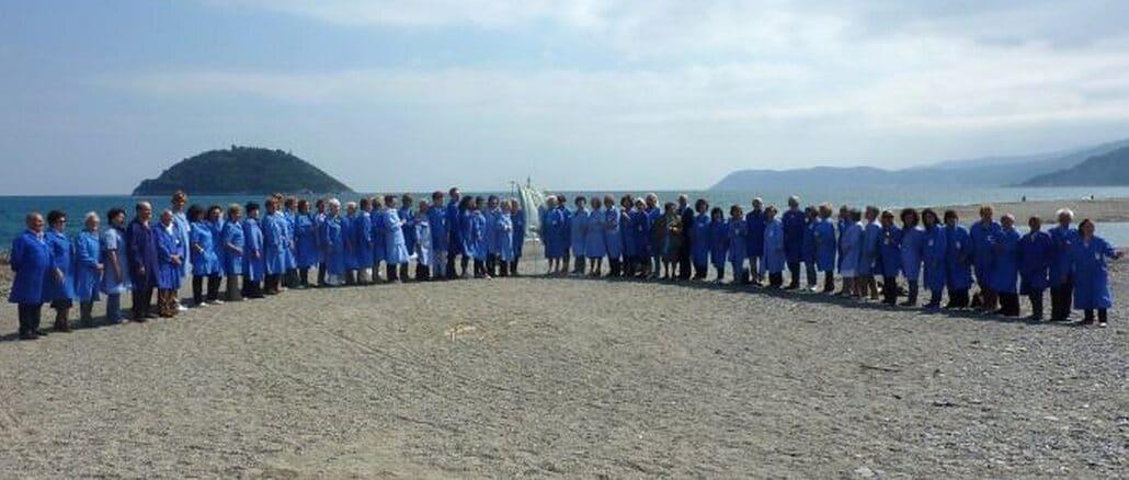 Il Gruppo Avo ad Albenga prima del Covid (Foto Daros)