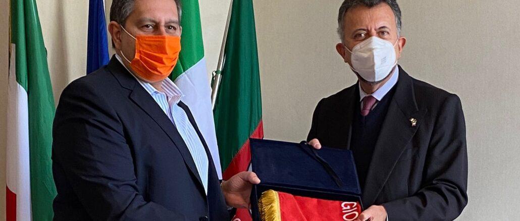 Incontro in Regione Liguria con Ambasciatore del Messico in Italia