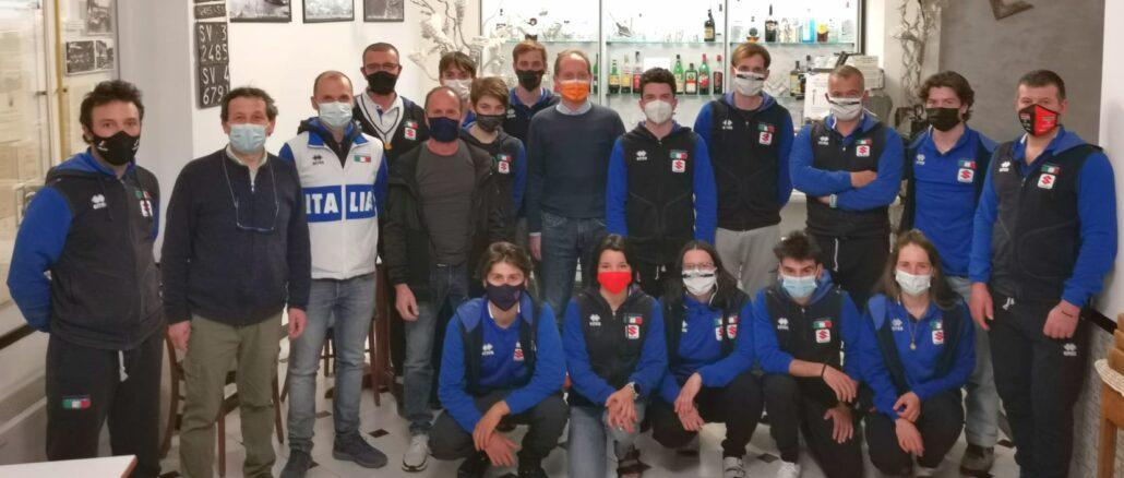 Nazionale Mtb di Celestino in ritiro ad Andora