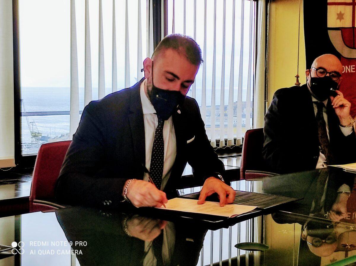 Presidente Medusei firma