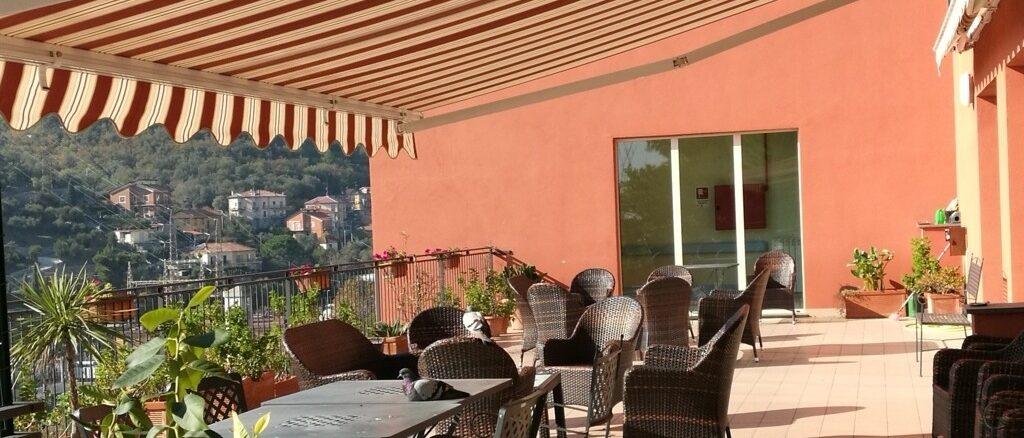 RSA Alassio - Visite in terrazza ospiti