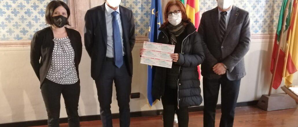 Rotary Albenga donazione buoni spesa