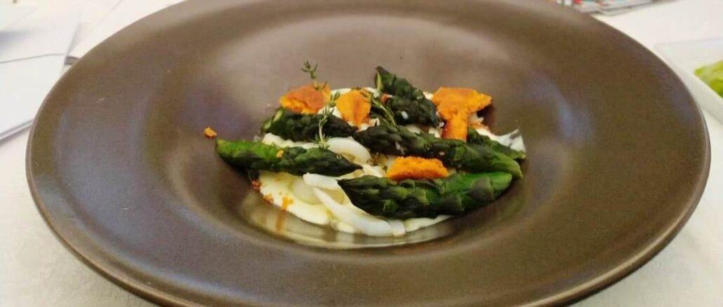 Show cooking asparago