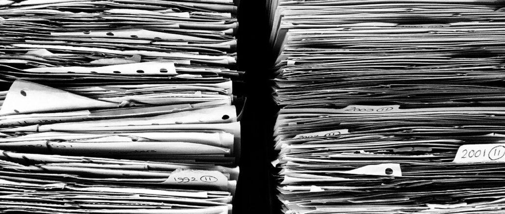 documenti incartamenti