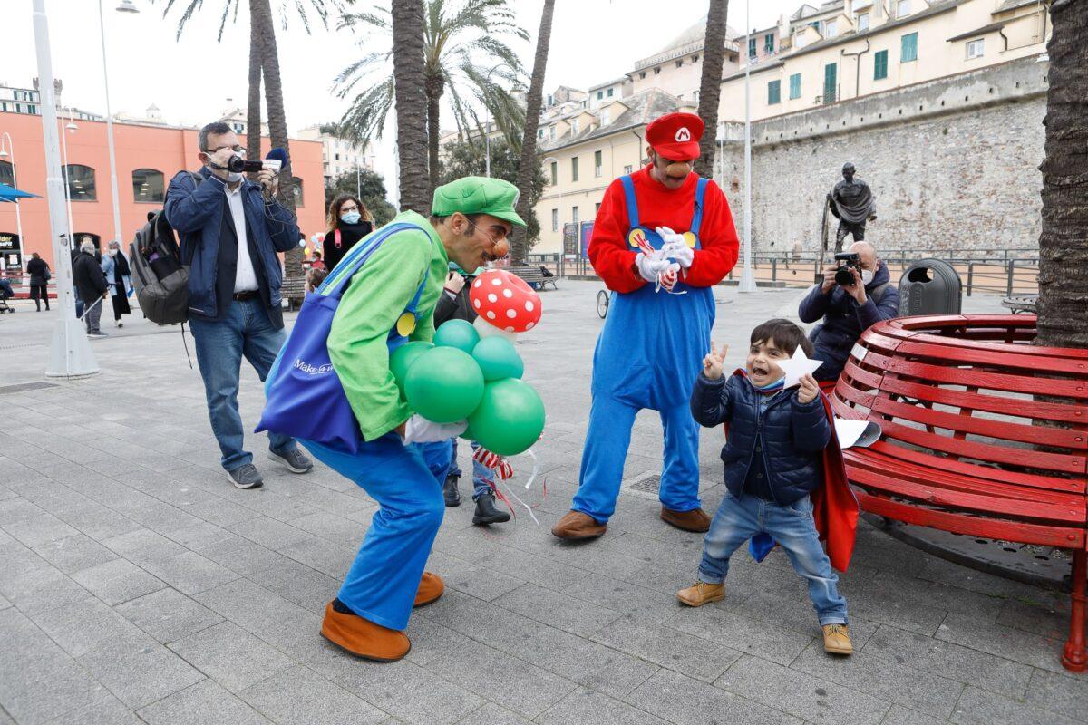 Marco e Super Mario_Make-A-Wish Italia