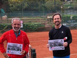 Alassio tennis - GaleY (FRA) e Shaw (USA)