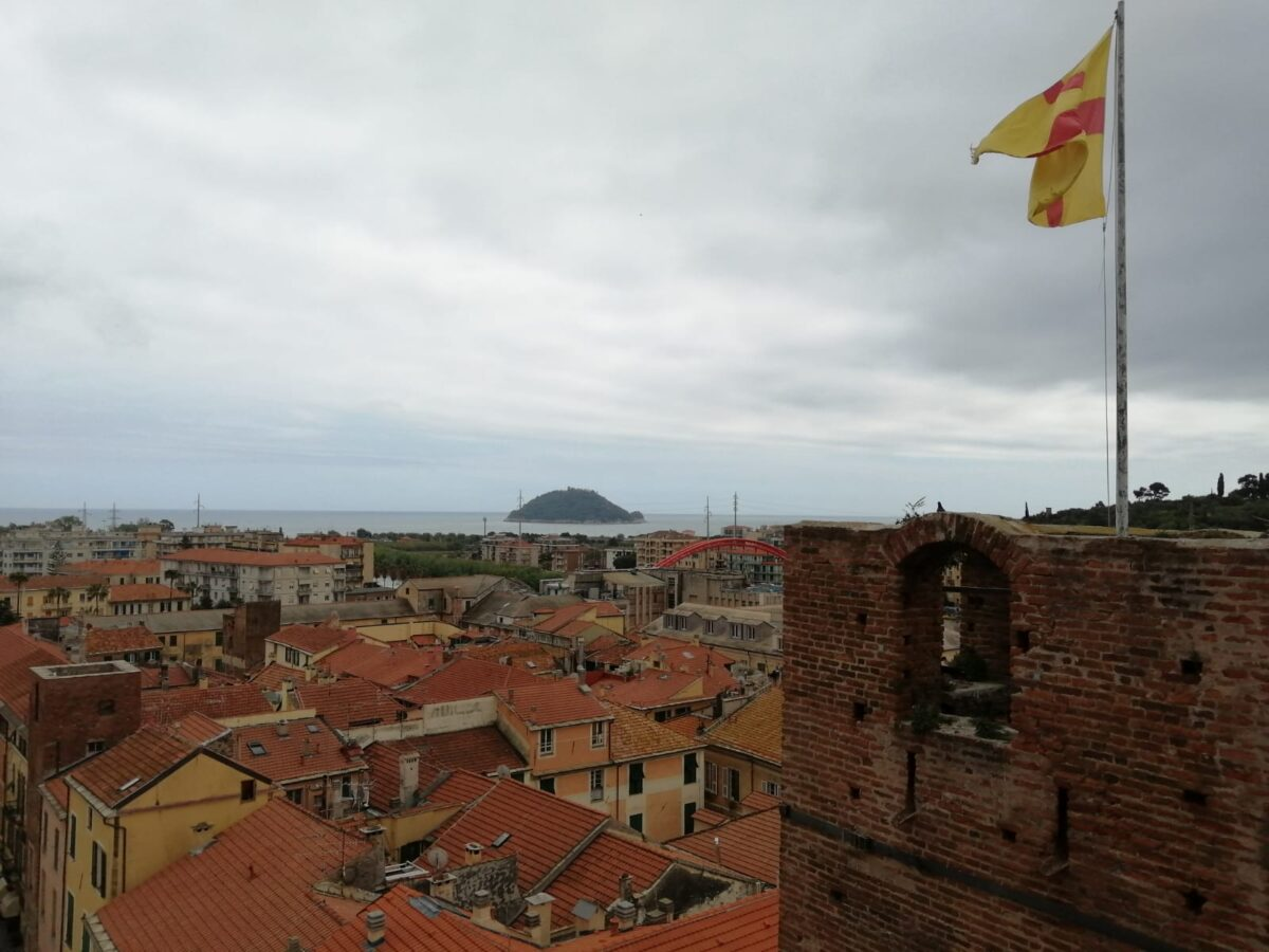Albenga vista torre civica
