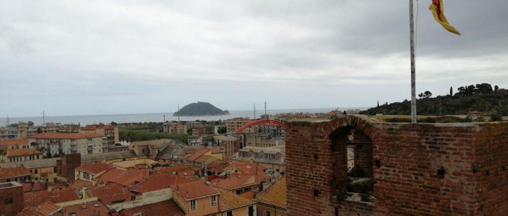 Albenga - vista torre civica 2