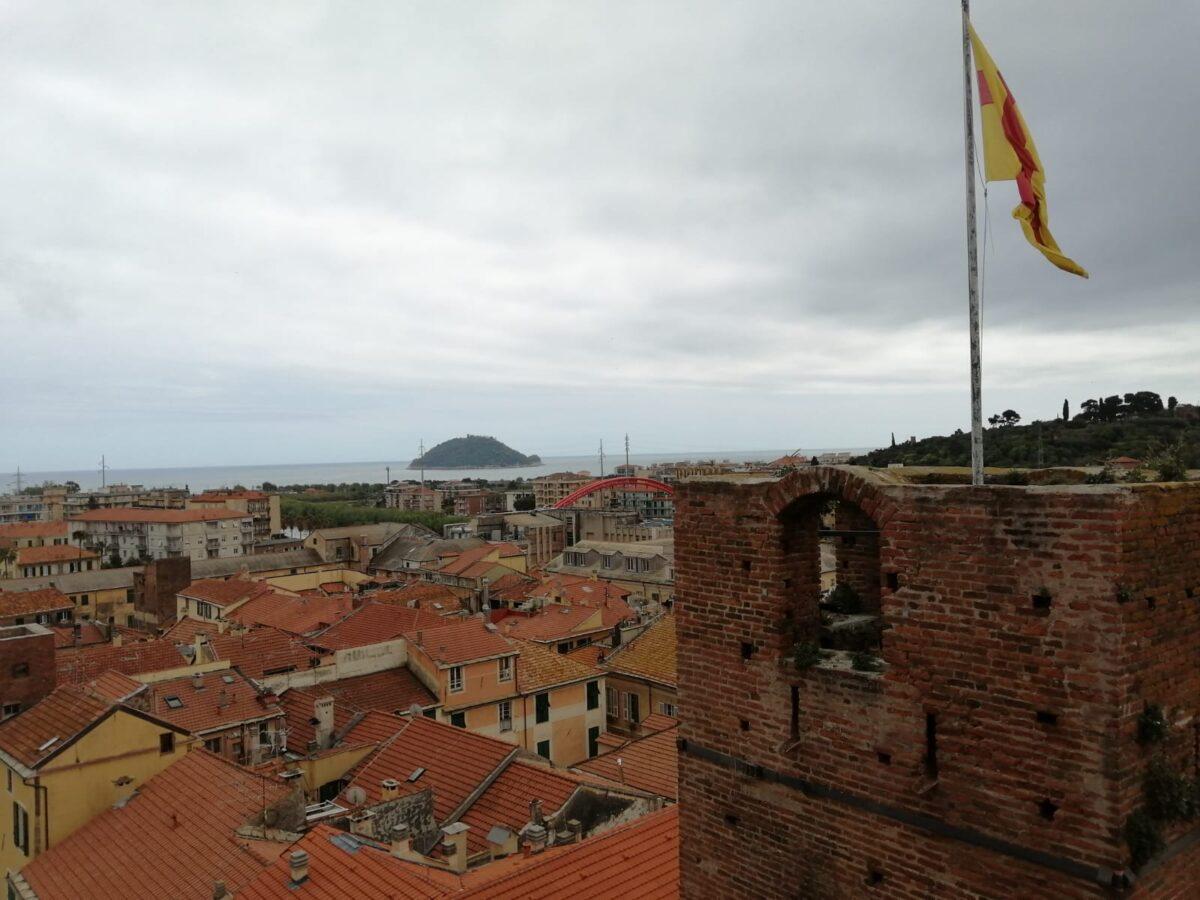 Albenga vista torre civica 2