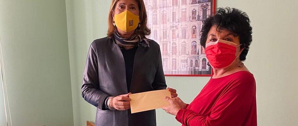 Caterina Giraudo e Antonella Raimondi